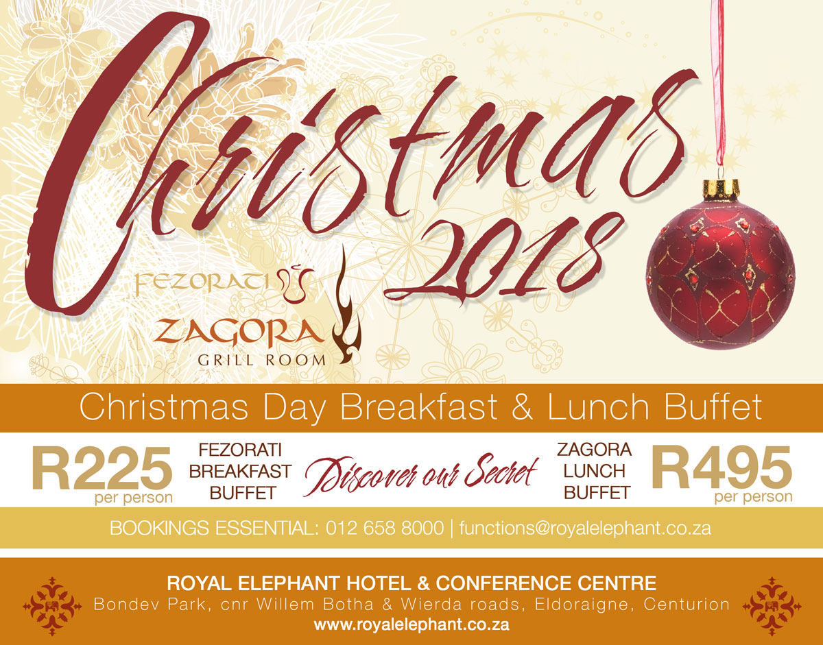 Christmas Lunch Buffet – 2018