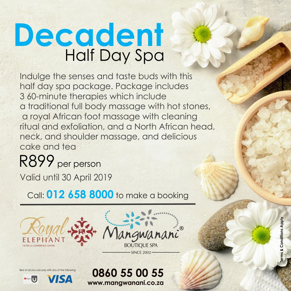 Decadent Half Day Spa