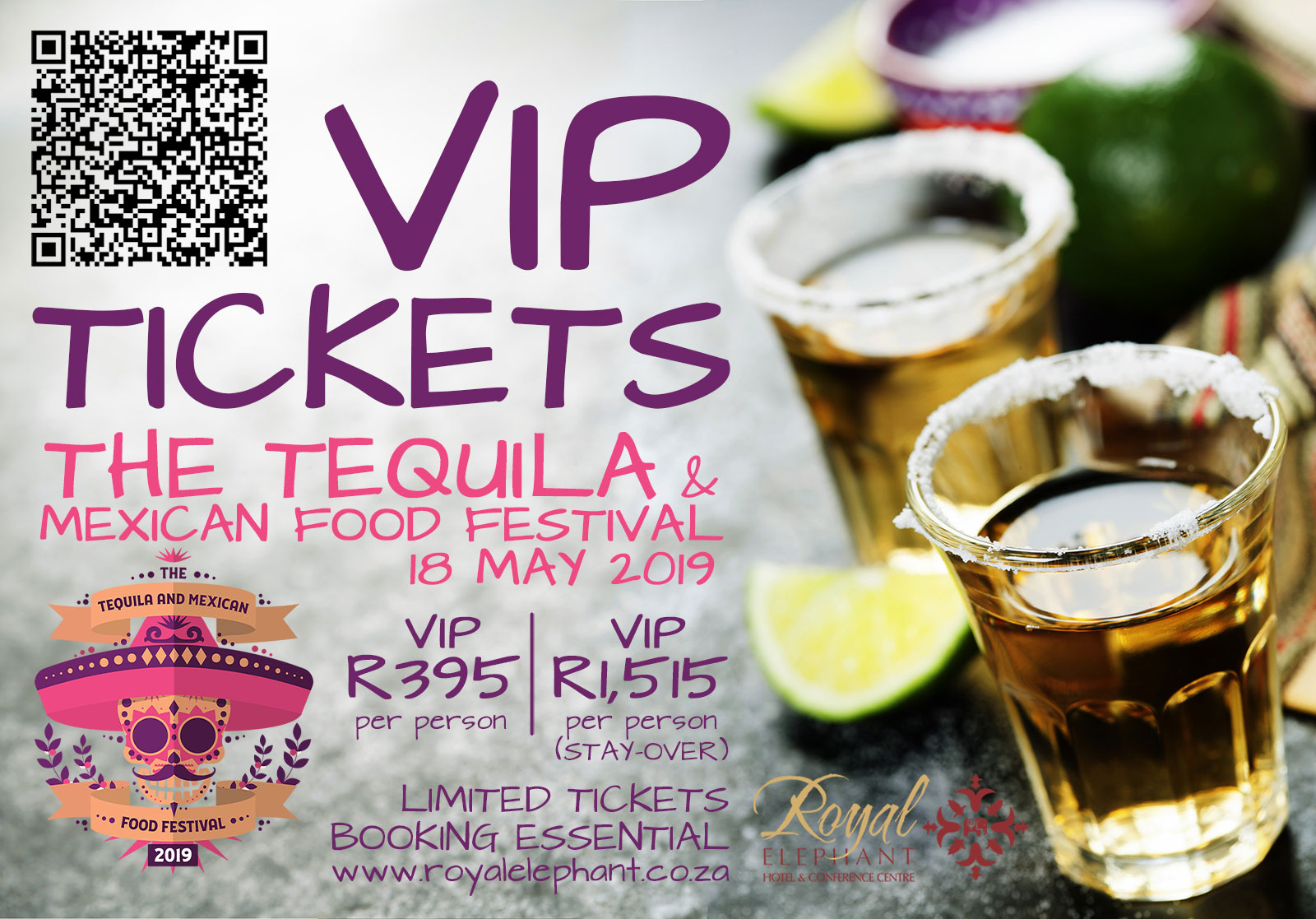 VIP Tickets (The Tequila & Mexican Food Festival 2019)