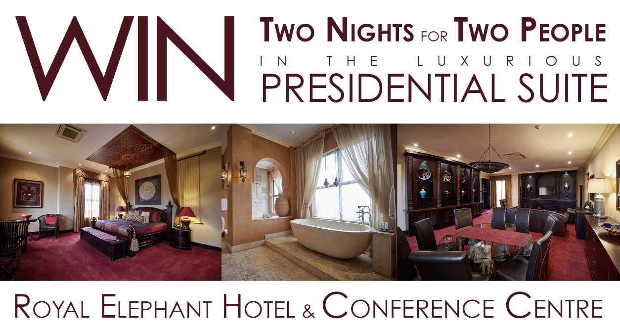 Win Two Nights for Two in the Presidential Suite