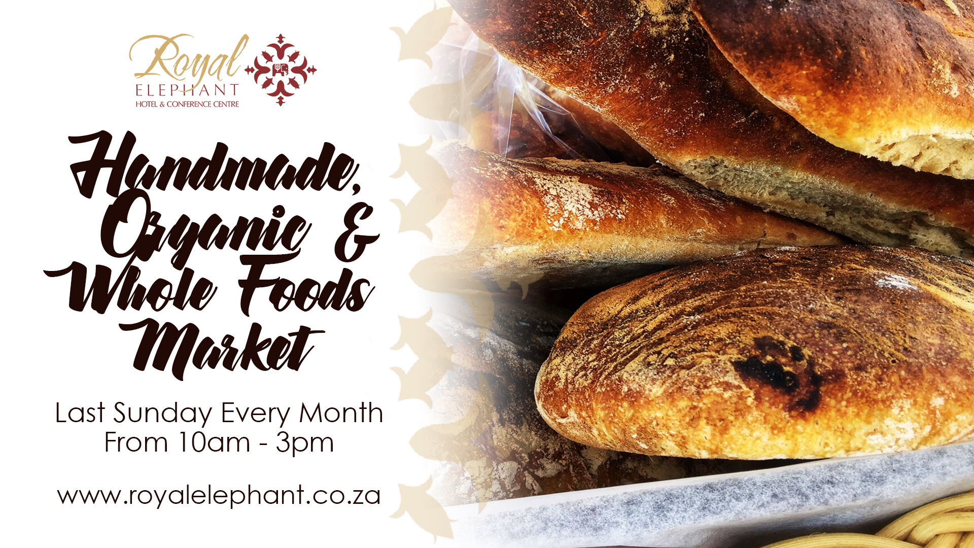 Handmade, Organic & Whole foods Market – 27 October 2019