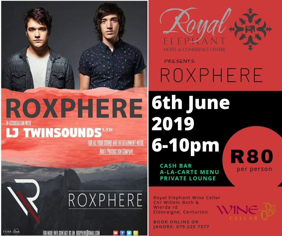 ROXPHERE – 6 June 2019 – Live Event