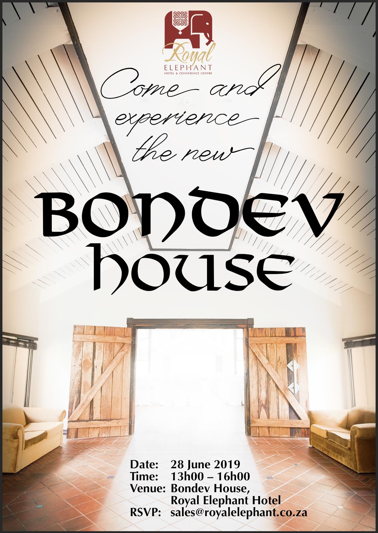 Bondev Open Day – June 28, 2019