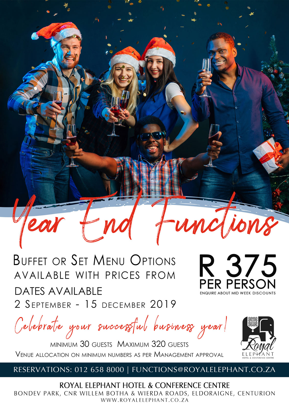 Host your Year-End Function at Royal Elephant