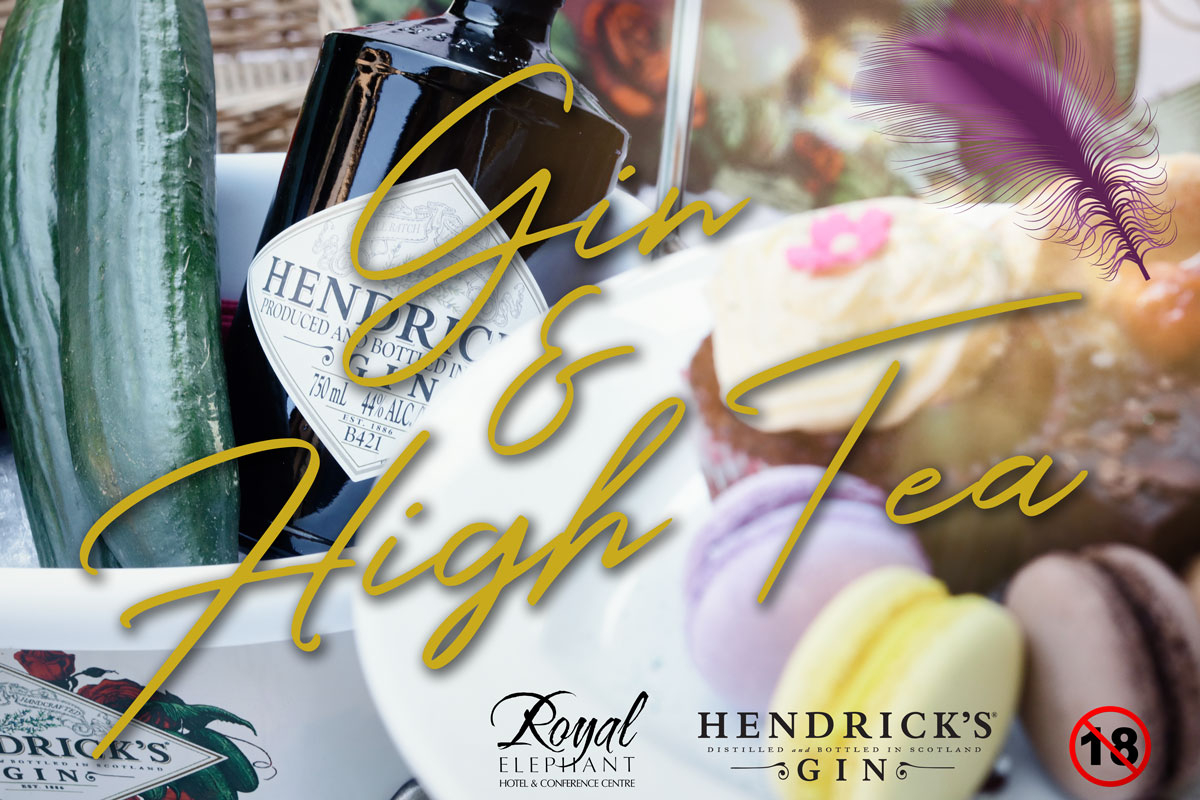 Hendrick's and High Tea – 9 November 2019