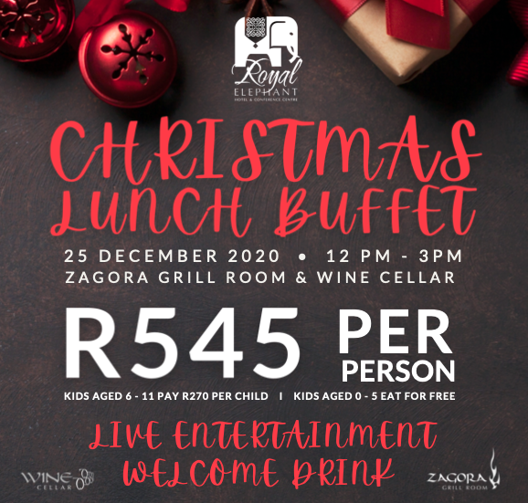 Christmas Lunch I 25 December 2020, December 25 2020 Christmas Buffet Lunch! – The Royal Elephant Hotel