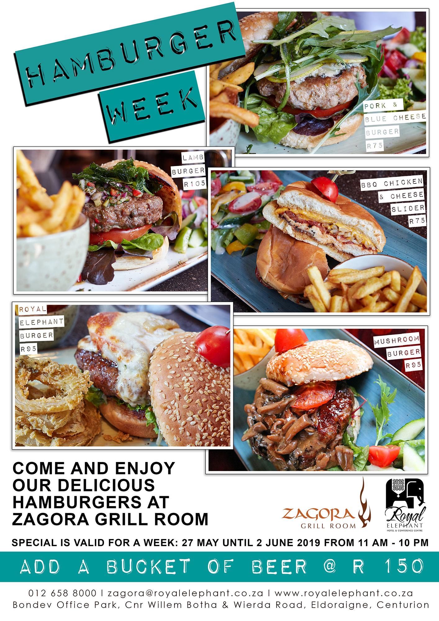 Celebrate International Hamburger Day!