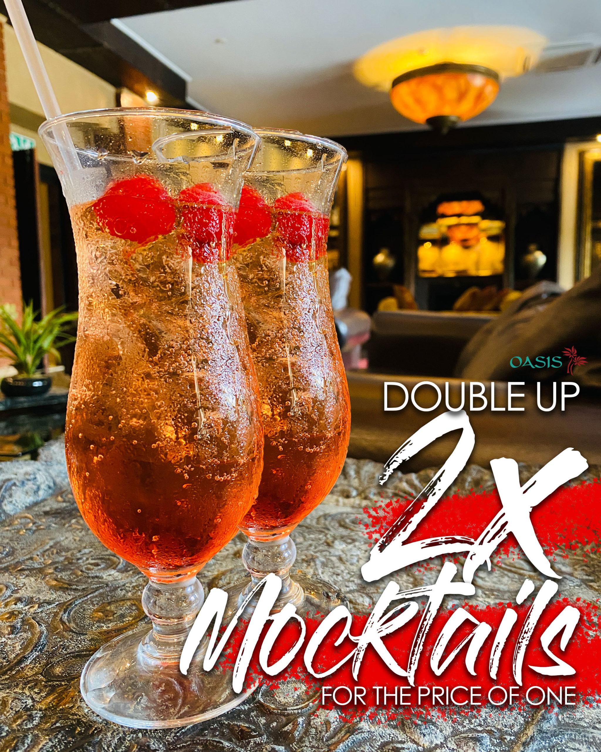 Double Up Mocktails!!