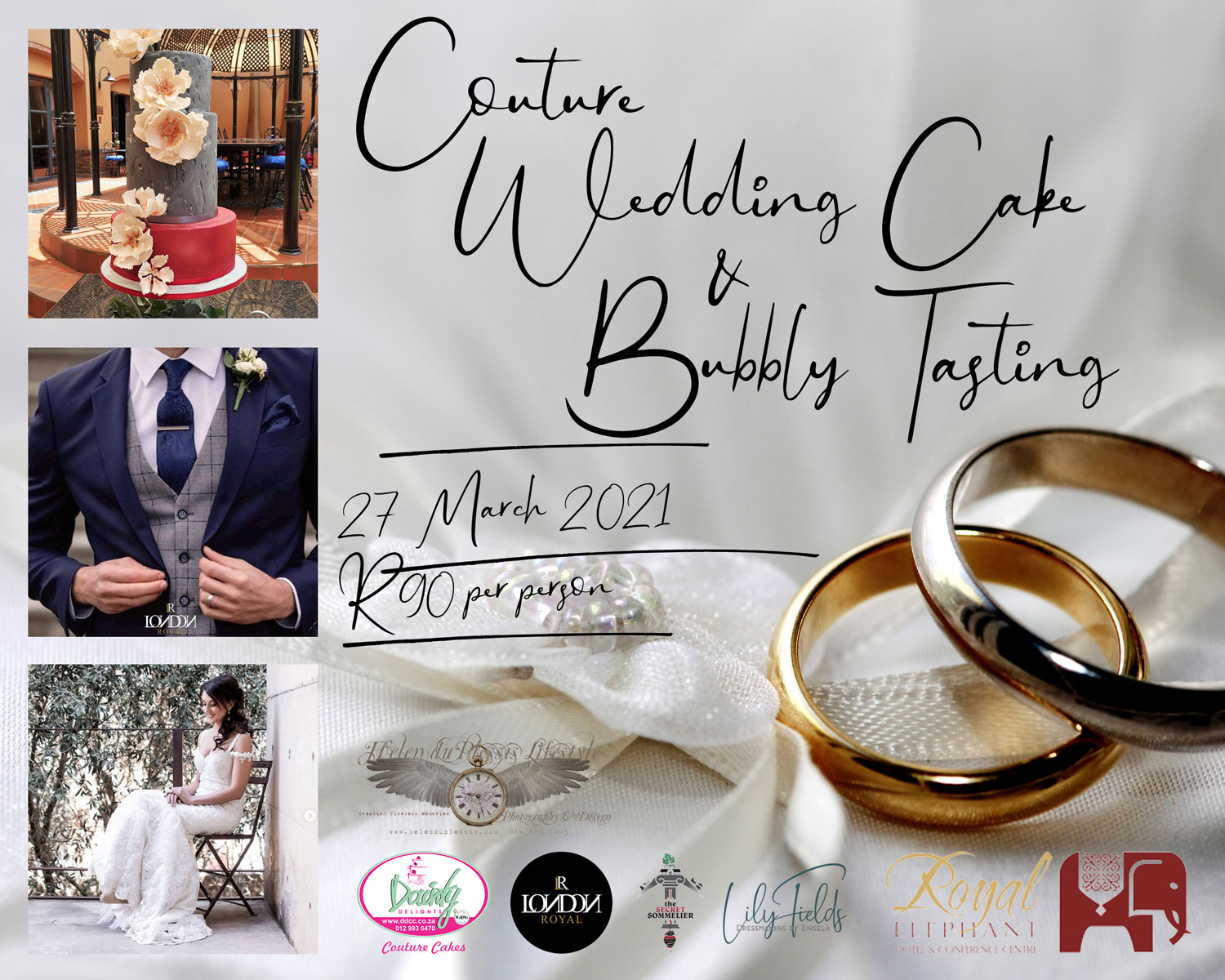 Couture Wedding Cake & Bubbly Tasting