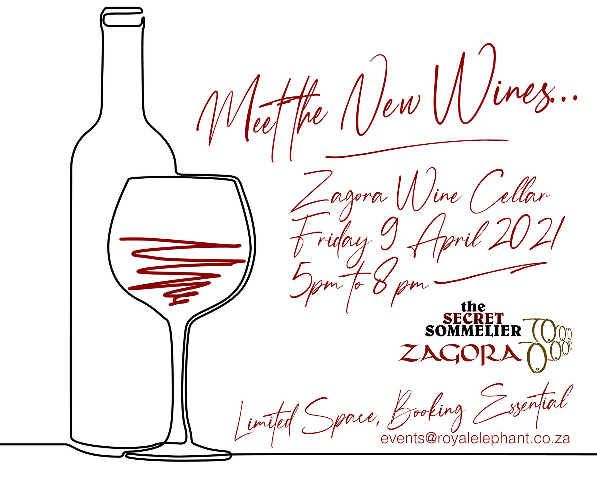 Meet the New Wines! Secret Sommelier Wine Tasting – 9 April 2021