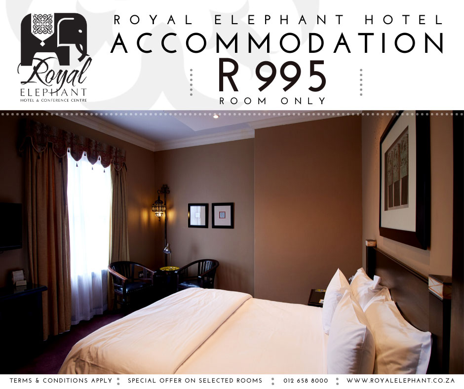 Booking Direct? Get your room for only R995!