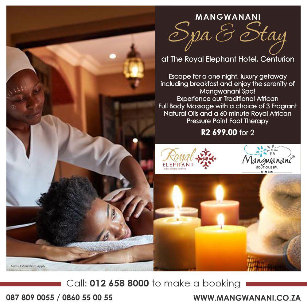 Mangwanani Winter Spa & Stay Special!